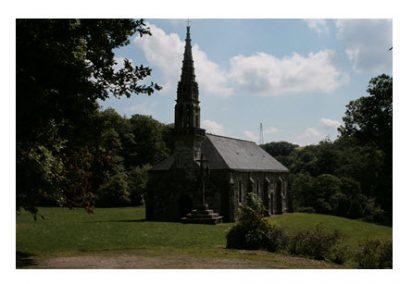 chapelle saint exupère à Dinéault