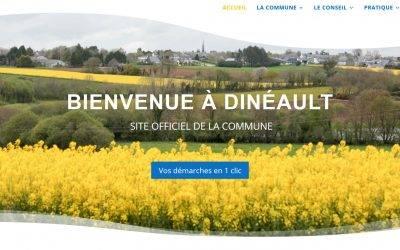 Nouveau site web pour la Mairie de Dinéault !