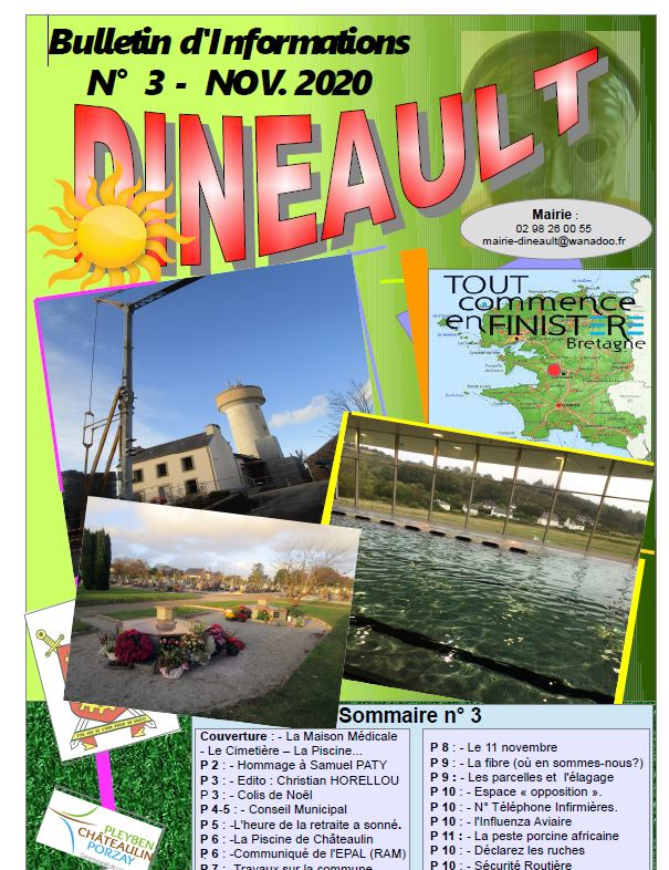 Bulletin n°3 - Nov 2020