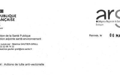 Actions de lutte anti-vectorielle : Moustique Tigre. Information du public.